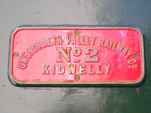 Tank Engine Plaque