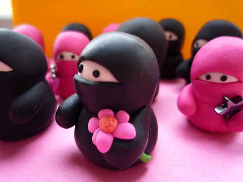 An army of ninjas