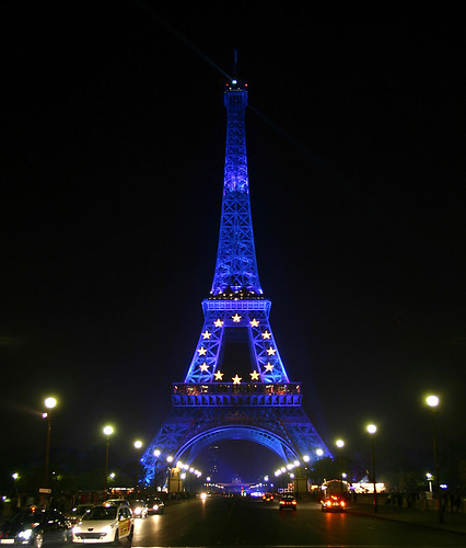 Approaching the Eiffel Tower