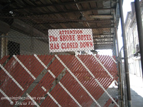 The Shore Hotel has closed down.