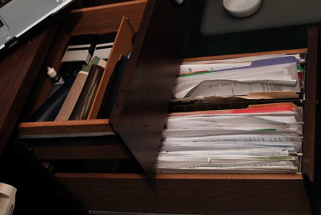create an organizational system