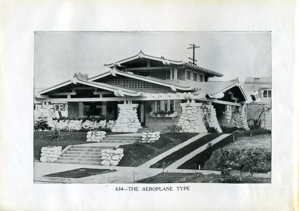 1920 Aeroplane Or Airplane Style Bungalow Flickr