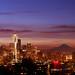 Seattle Sunrise by David M Hogan