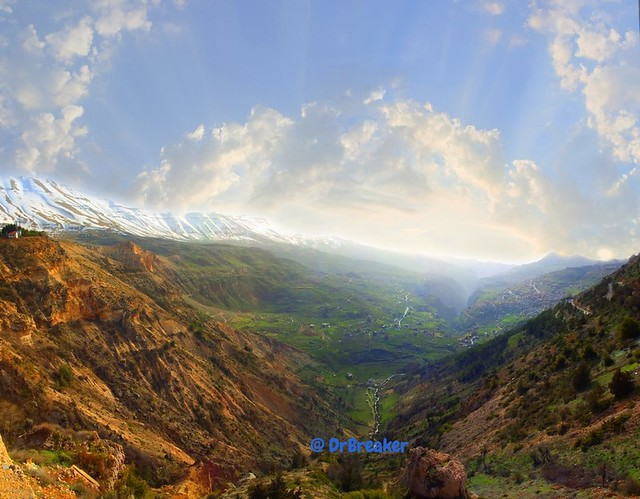 Ouadi Qadisha (the Holy Valley) and what remains of the Forest of the Cedars of God (Horsh Arz el-Rab)