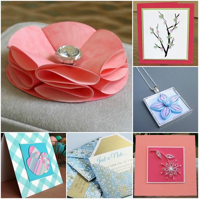 Spring Paper Craft DIYs