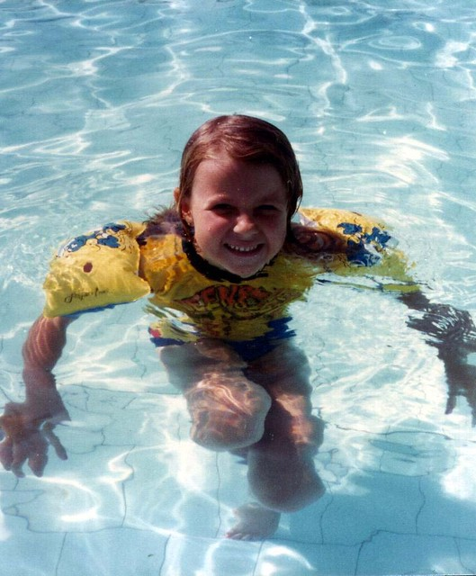 Nikki swimming
