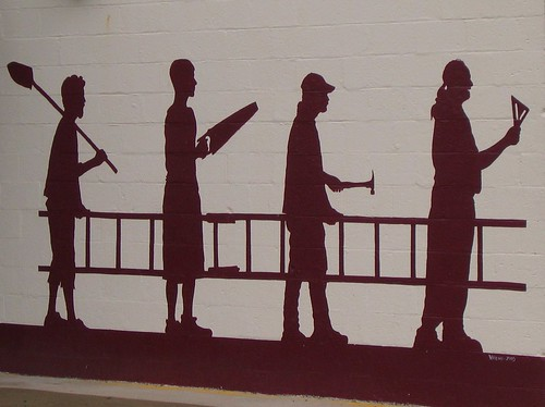 Clever Wall Mural in Yellow Springs, Ohio
