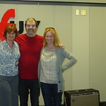 Steve Earle and Allison Moorer at WFUV with Claudia Marshall