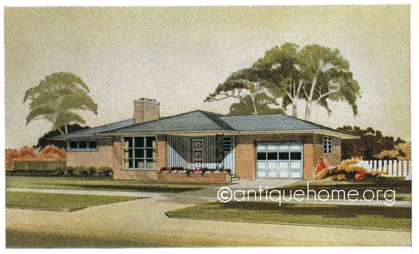 The Monterey  1950s Ranch Style House  Mid Century Modern   Flickr