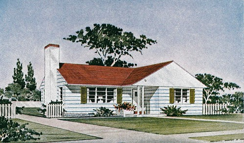 1950s ranch style house homedesignpictures for 1950 s house plans