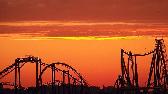 Kingdom Coaster Sunrise