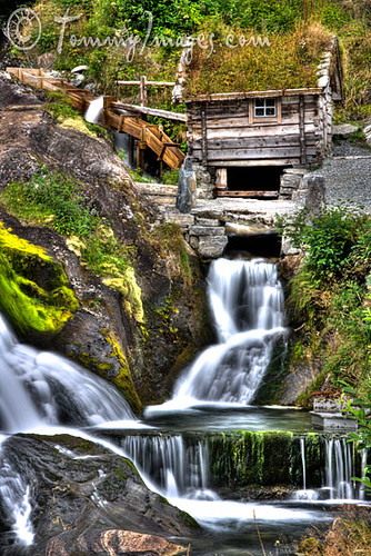 Water Wheel House And Waterfalls Flickr Photo Sharing