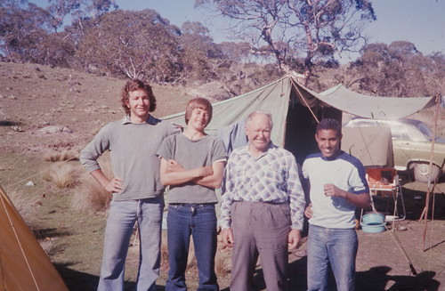 Jim and Terry and school friend Boz, Anembo