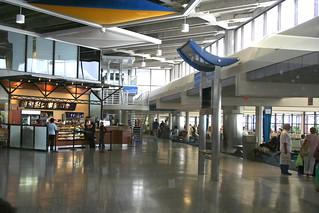 Barbados departure lounge