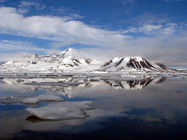 El archipiélago de Svalbard, Noruega