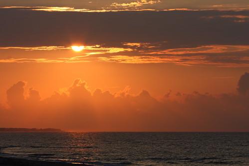 ocean blue sea usa sun art beach gulfofmexico water yellow clouds america sunrise island photography golden photo florida clayton images shore northamerica harris inspiring stgeorgeisland harrisclayton