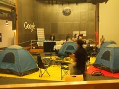 Googleplex tents