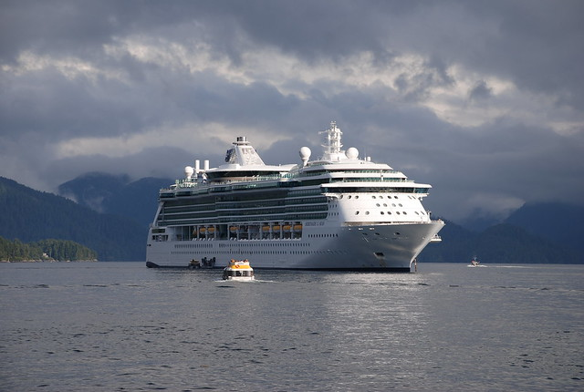 Serenade of the Seas in Sitka, Alaska