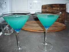 martini(0.0), glass(1.0), blue hawaii(1.0), champagne stemware(1.0), drink(1.0), cocktail(1.0), margarita(1.0), alcoholic beverage(1.0),