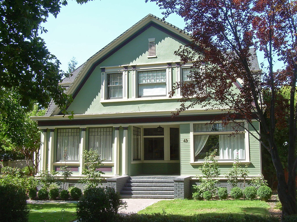 Dutch Colonial Revival House | Flickr - Photo Sharing!