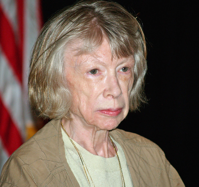 They're making a Joan Didion documentary!