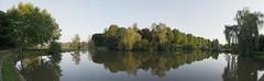 Panorama du lac de Charolles