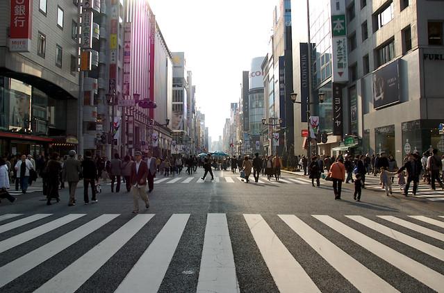 Ginza Pedestrian Crossing