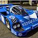 1983 Mario Andretti / Michael Andretti / Philippe Alliot.   Kenwood Kremer Porsche 956L Group C Sportscar. Silverstone Classic 2007. (Explore)