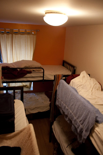 "The price is right in hostels... even if they sometimes are a bit ""cozier"" than you'd like."