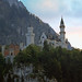 Castle Neuschwanstein in the Evening