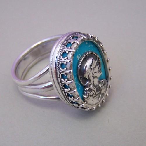 Cartier Trinity Wedding Band 48 Beautiful Christ ring Nacozari turquoise