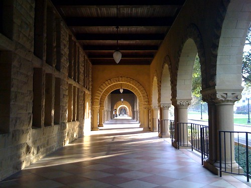 Stereotypical Stanford Quad picture