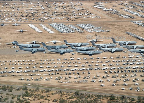 "Davis Monthan AFB, Arizona  "" The Boneyard"""