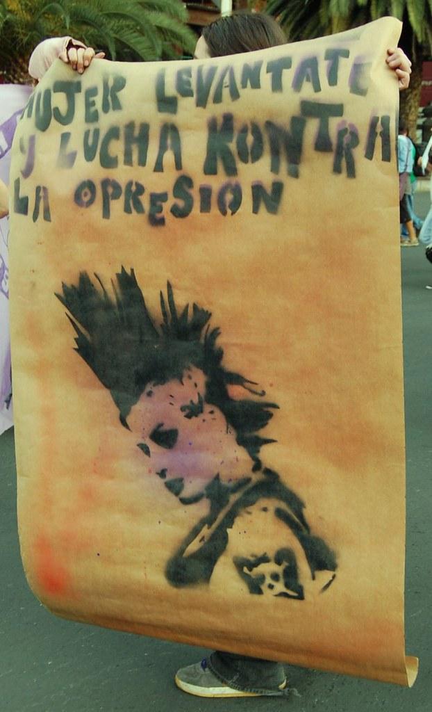 Marcha contra feminicidios, March 8, 2011