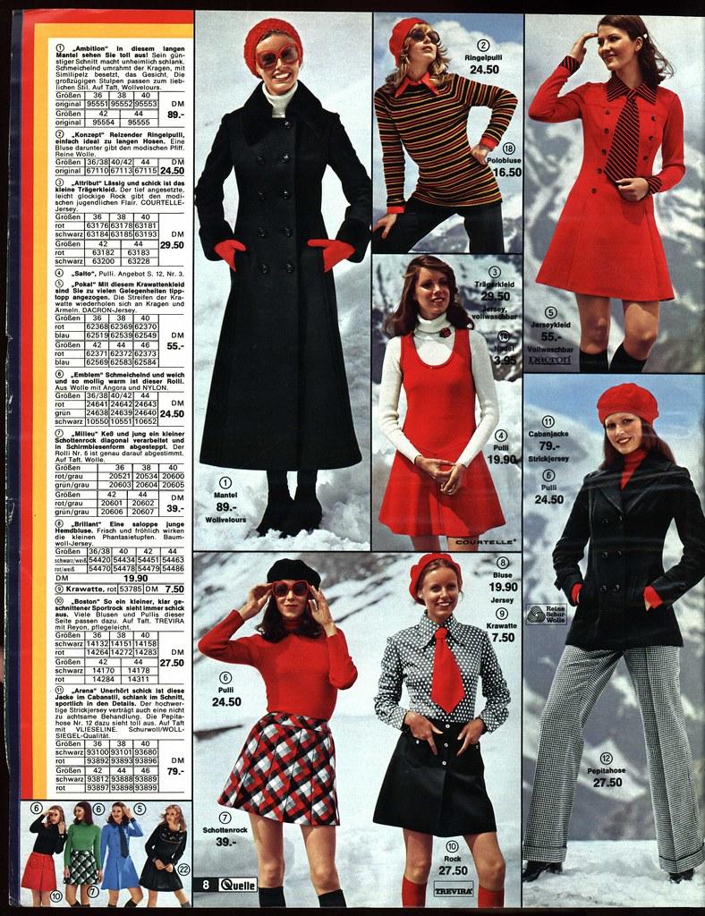 1972 quelle 8 junge mode a photo on flickriver. Black Bedroom Furniture Sets. Home Design Ideas