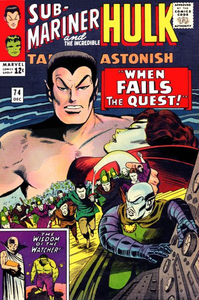 Tales to Astonish 074