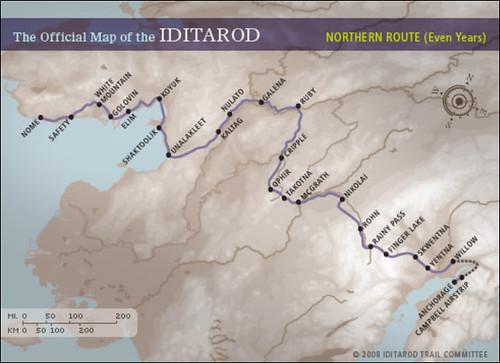 IDITAROD-Map