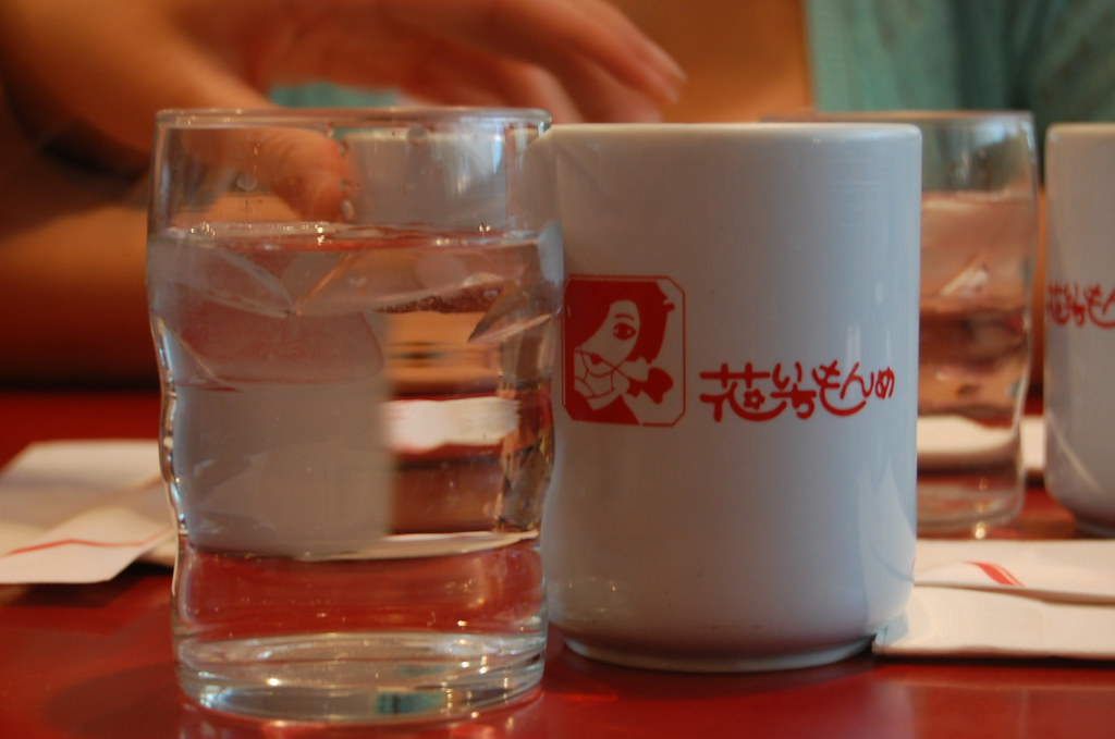 Hanaichimonme: Water and tea