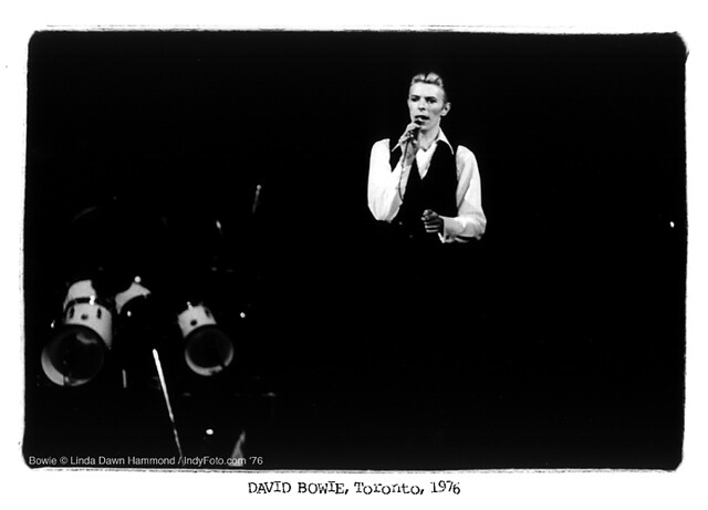 David Bowie © Linda Dawn Hammond Feb. 26, 1976