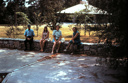 1969-08-33 Resting - Miller, Debbie, Miriam & Mamie