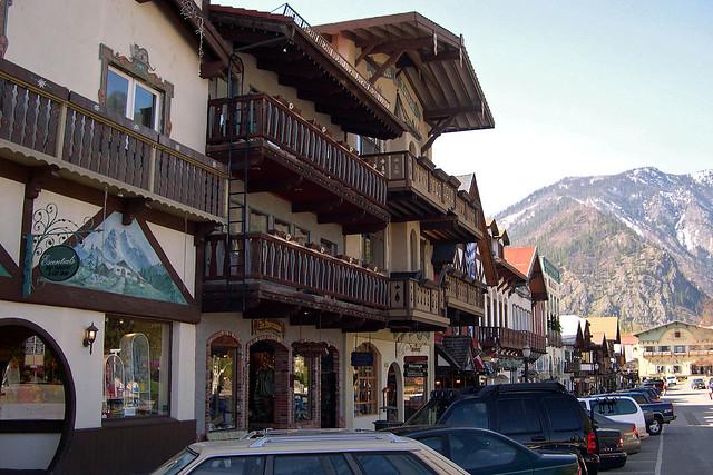 Bavarian Alps? No, Washington state!