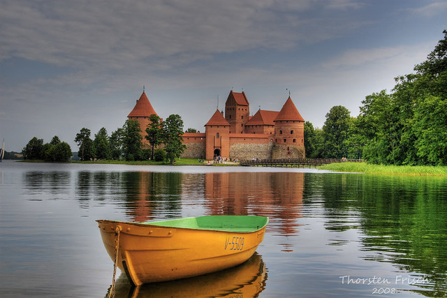 HDR Trakai castle