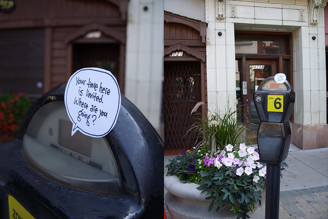 Parking Meter Talk: Chicago Lincoln Square 1