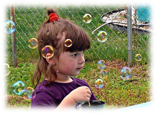 kim La princesse des bulles!