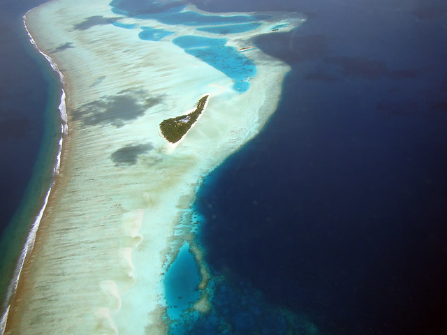 Aerial Photo Maldives
