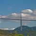 Millau Viaduct sequence 2, Aveyron, France, Sept. 2008