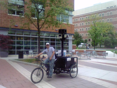 camera google googlemaps tricycle pa pennstate statecollege rickshaw streetview businessbuilding