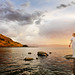 Outtake: Bride at The Great Salt Lake by calanan