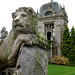 Small photo of Lion at Harlaxton Manor