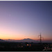 Sunrise with Half Moon and Vesuvius